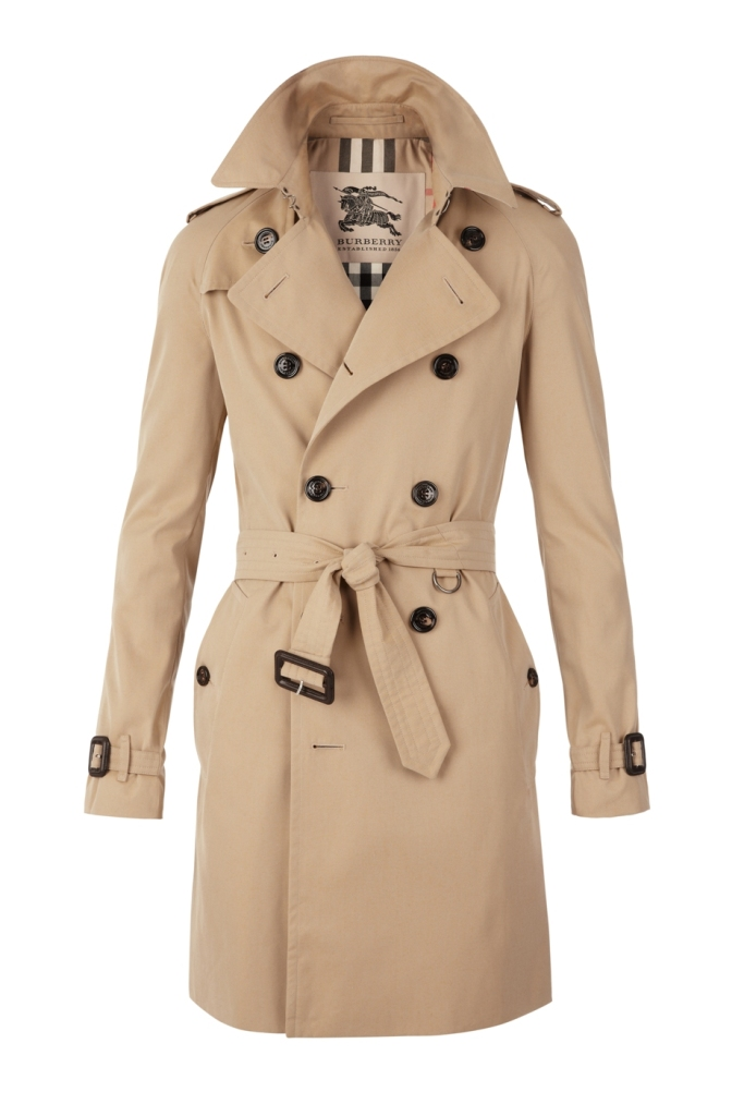 BURBERRY Gabardine trench coat $1,495, Wesley Quarter_0